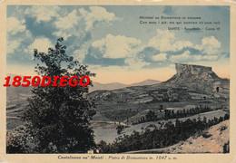 CASTELNOVO NE' MONTE - PIETRA BISMANTOVA  F/GRANDE VIAGGIATA  1953 - Reggio Nell'Emilia