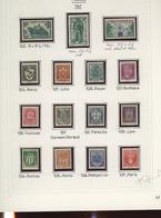 Avant 1944 * Ø Cote 1900 Euros. (tout N'est Pas Compté). On Peut Acheter Avant 1900 Séparément, Voir Scan De Fond - Collections