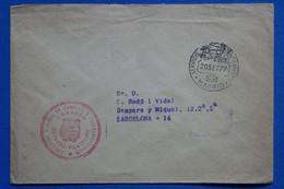 AC9 ESPANA  BELLE LETTRE   1977  MADRID A BARCELONA+ + AFFRANCHISSEMENT INTERESSANT - 1971-80 Storia Postale