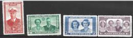 Basutoland  1947  SG  32-5 Royal Visit   Mounted Mint - 1933-1964 Crown Colony