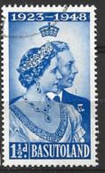 Basutoland  1948  SG  36  Silver Wedding  Fine Used - 1933-1964 Crown Colony