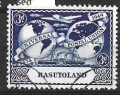Basutoland  1949  SG  39 3d U P U    Fine Used - 1933-1964 Crown Colony