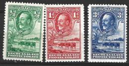 Bechuanaland  1932  SG 99,100, 02 Mounted Mint - 1885-1964 Bechuanaland Protectorate