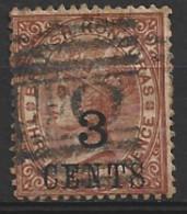 British  Honduras  1888  SG  38  3 CENTS  Overprint  Fine Used - British Honduras (...-1970)