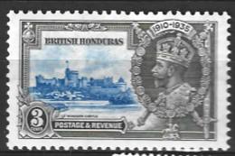 British  Honduras  1935  SG  143  Silver Jubilee  Mounted Mint - British Honduras (...-1970)