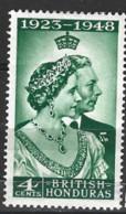 British  Honduras  1948  SG  164 Silver Wedding   Mounted Mint - British Honduras (...-1970)