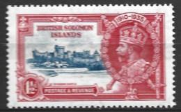 British Solomon Islands   1935  SG 53  Silver Jubile  Unmounted Mint - British Solomon Islands (...-1978)
