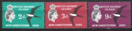 British Solomon Islands   1961  SG 97-4  New Constitution    Unmounted Mint - British Solomon Islands (...-1978)