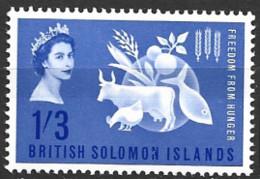 British Solomon Islands   1963  SG 100  F F H   Unmounted Mint - British Solomon Islands (...-1978)