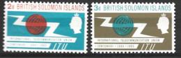 British Solomon Islands   1965  SG 127-8  I T U   Unmounted Mint - British Solomon Islands (...-1978)