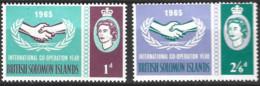 British Solomon Islands   1965  SG 129-30    I C Y    Unmounted Mint - British Solomon Islands (...-1978)