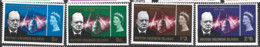 British Solomon Islands   1966  SG 131-4  Churchill    Unmounted Mint - British Solomon Islands (...-1978)