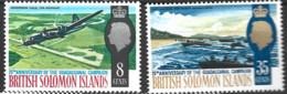 British Solomon Islands   1967  SG 160-1  Guadalcanal Campaign  Unmounted Mint - British Solomon Islands (...-1978)