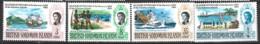 British Solomon Islands   1968  SG 162-5  Quartercentury  Unmounted Mint - British Solomon Islands (...-1978)