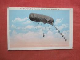 US Navy Observation Ballon Pensacola Fl.      Ref 5209 - Globos