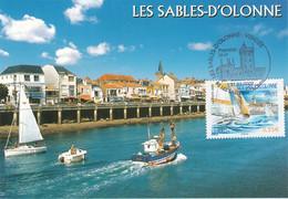 France Carte Maximum 2009 4334 Les Sables D'Olonne - 2000-09