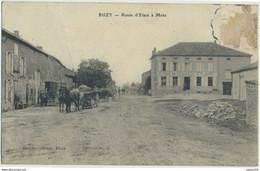 55) BUZY : Route D'Etain à Metz (1906) - Sonstige Gemeinden