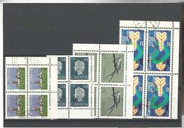 54565 ) Collection Canada Block - Blocks & Sheetlets