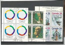 54568 ) Collection Canada Block - Blocks & Sheetlets