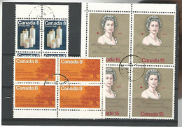 54574 ) Collection Canada Block - Blocks & Sheetlets