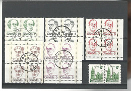 54575 ) Collection Canada Block - Blocks & Sheetlets