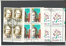 54578 ) Collection Canada Block - Blocks & Sheetlets