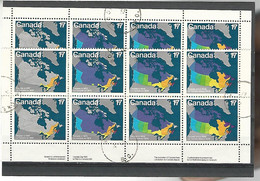 54579 ) Collection Canada Block - Blocks & Sheetlets