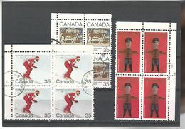 54580 ) Collection Canada Block - Blocks & Sheetlets
