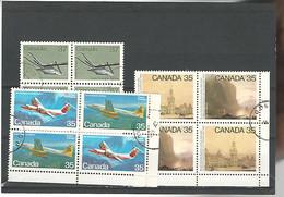 54581 ) Collection Canada Block - Blocks & Sheetlets
