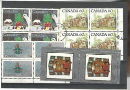 54583 ) Collection Canada Block - Blocks & Sheetlets