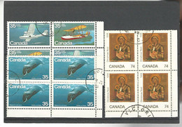 54584 ) Collection Canada Block - Blocks & Sheetlets
