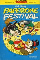 TOP 023 - WALT DISNEY - I CLASSICI # 61 - PAPERONE FESTIVAL - Disney