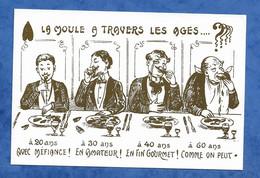 CPM Humour Grivois : La Moule à Travers Les âges - La Belle époque Voyagée - Humor