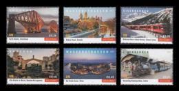United Nations (Vienna) 2021 Mih. 1115/20 UNESCO World Heritage. Bridges, Waterways And Railways (II) MNH ** - Ungebraucht
