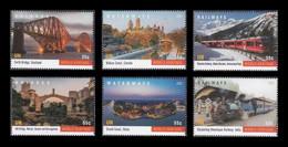 United Nations (New York) 2021 Mih. 1806/11 UNESCO World Heritage. Bridges, Waterways And Railways (II) MNH ** - Ungebraucht
