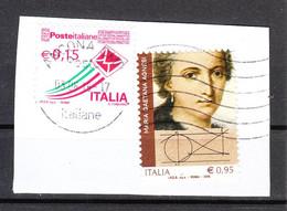 Italia   -   2018. Maria Gaetana Agnesi, Celebre Matematica Del '700. Famous Mathematics Of The Eighteenth Century - Fisica