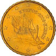 Monnaie, Chypre, 10 Euro Cent, 2008, SPL+, Laiton, KM:81 - Chipre