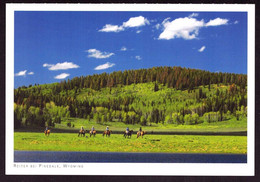 AK 001951 USA - Wyoming - Reiter Bei Pinedale - Other