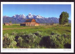 AK 001960 USA - Wyoming - Jackson Hole Vor Der Teton Range - Other