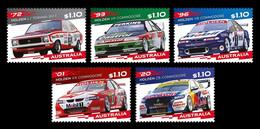 Australia 2021 Mih. 5377/81 Holden Race Cars MNH ** - Ungebraucht