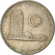 Monnaie, Malaysie, 20 Sen, 1973, Franklin Mint, TB, Copper-nickel, KM:4 - Malaysia