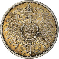 Monnaie, GERMANY - EMPIRE, Wilhelm II, Mark, 1906, Stuttgart, TTB+, Argent - 1 Mark