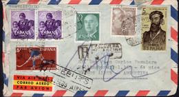 España - Circa 1960 - Carta - Via Aerea - Enviada A Argentina - Francisco Franco - A1RR2 - 1961-70 Storia Postale