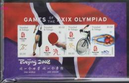 Trinidad And Tobago 2008 Beijing 2008 Of Game Of XXIX Olympiad MS - Verano 2008: Pékin