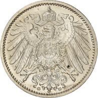 Monnaie, GERMANY - EMPIRE, Wilhelm II, Mark, 1914, Karlsruhe, SPL, Argent, KM:14 - 1 Mark