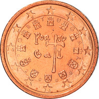 Portugal, 2 Euro Cent, 2002, Lisbonne, SUP+, Copper Plated Steel, KM:741 - Portugal