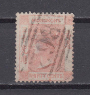 Hong Kong 1863 Queen Victoria Stamp 30c,Scott# 19,used - Used Stamps