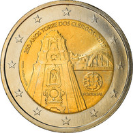 Portugal, 2 Euro, Tour Des Clercs, 2013, Lisbonne, SPL+, Bi-Metallic - Portugal