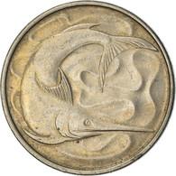 Monnaie, Singapour, 20 Cents, 1976, Singapore Mint, TTB+, Copper-nickel, KM:4 - Singapore