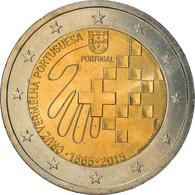 Portugal, 2 Euro, 2015, SPL+, Bi-Metallic, KM:New - Portugal